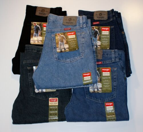 New Wrangler Five Star Regular Fit Jeans Men&rsquo;s Sizes Five Colors  <br/> Самые удобные джинсы Wrangler $19.50 Shipping Worldwide