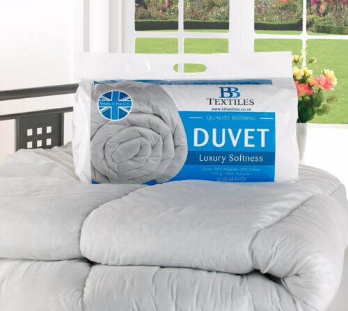 13.5 TOG HEAVY WINTER WARM HOLLOW FIBRE QUILT/DUVET ALL SIZES AVAILABLE!!! <br/> IN STOCK AND  READY TO SHIP &amp; FREE P&amp;P IN THE UK !!!!!!