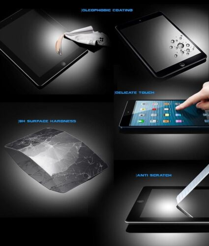 Tempered Nano Glass 2.5D Arc Edge 9H Screen Protector For iPad 2/3/4