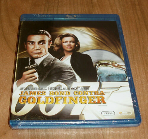 JAMES BOND CONTRA GOLDFINGER-GOLDFINGER-JAMES BOND OO7-BLU-RAY-NUEVO-NEW-SEALED