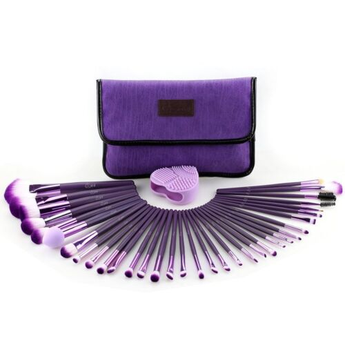 Glow 30 Pcs Professional Make up Brushes Set Makeup Kit in Cosmetic Case <br/> ---1 Year Warranty - - - High Quality Design ---