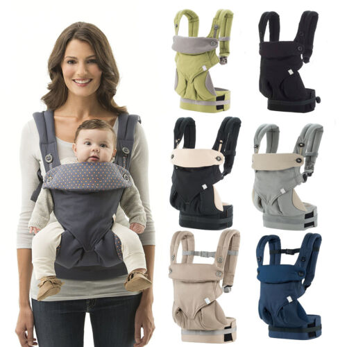 Baby Infant Safety Ergo Carrier 360 Four Position Breathable Baby Lap Strap