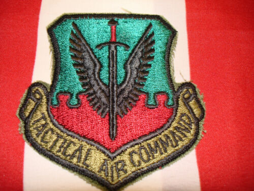 USAF Tactical Air Command Patch New Subdued Embroidered Hat Jacket Bag CoatMarine Corps - 66531