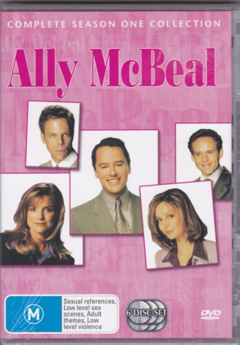 Ally McBeal - Complete Season One Collection - DVD (Brand New Sealed)  Region 4