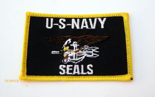 US NAVY SEALS HAT PATCH SEAL TEAM TRIDENT PIN MILITARY USA Navy - 66533