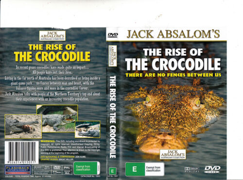 The Rise of The Crocodile-Jack Absalom's Australian Collection-DVD