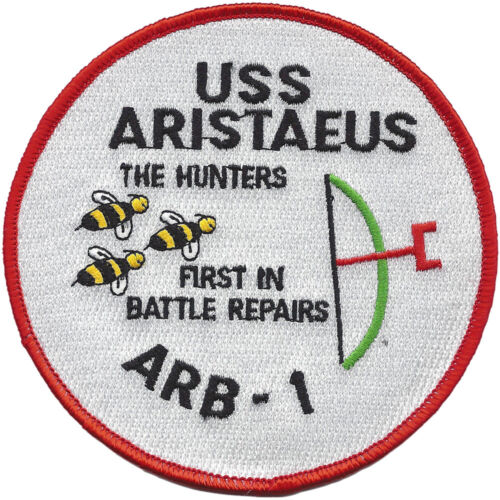 USS Aristaeus ARB-1 Battle Damage Repair Ship PatchPatches - 36078