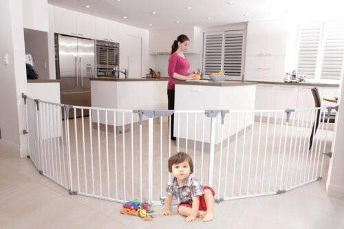 Dreambaby Royale Converta Playpen Portable long safety gate room divider kids <br/> 2 Panel Extension available separately great for pets