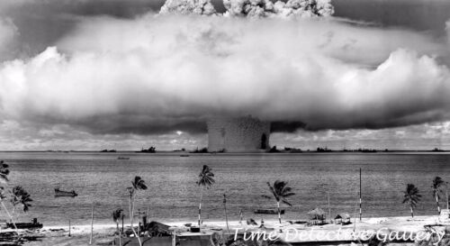 Nuclear Bomb Test, Bikini Atoll - 1946 - Historic Photo PrintReproductions - 156472