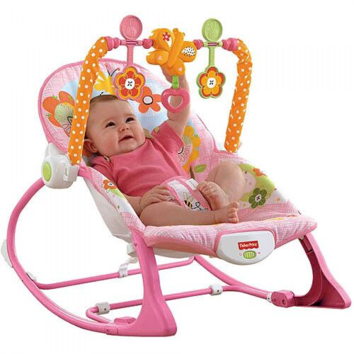 63% OFF Fisher Price NEWBORN-TO-TODDLER PORTABLE ROCKER BUNNY or BLUE FROG