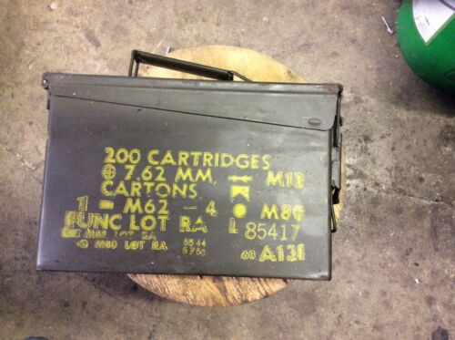 ammo cans- 30 CALIBER - GOOD CONDITION - 7.50 EA. OR ALL FOR $200Boxes & Chests - 165616