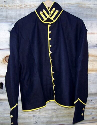 CIVIL WAR REENACTOR UNION CAVALRY SHELL JACKET WITH BOLSTERS 44Uniforms - 36041