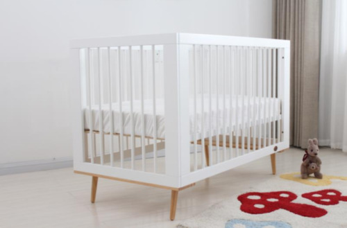 3IN1 BABY/INFANT SLEIGH COT/CRIB WITH DRAWERS &amp;TODDLER BED+ MATTRESS.WHITE/BROWN <br/> ONE YEAR WARRANTY **FREE DELIVERY**