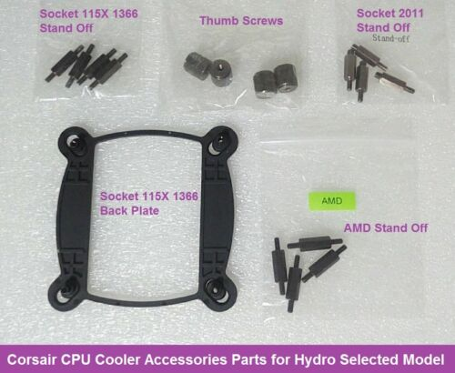 Corsair CPU Cooler Accessories Parts Screw for Hydro H80iV2 H100iV2 H115i Model