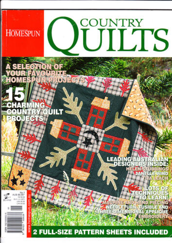 Australian Homespun - Country Quilts - Issue No 01