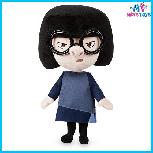 "Disney The Incredibles 2 Edna Mode 12 1/2"" Plush Doll Toy brand new"