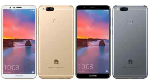 Huawei Open Box Mate SE 4G LTE Unlocked 51092DRH 4GB RAM 64GB 5.93&#039;&#039; Android 7 <br/> Gray Or Golden Color. Earphones is NOT included !