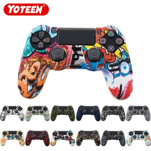 Sony Playstation 4 Dual shock Controller Skin - Silicone PS4 Gaming Remote Cover