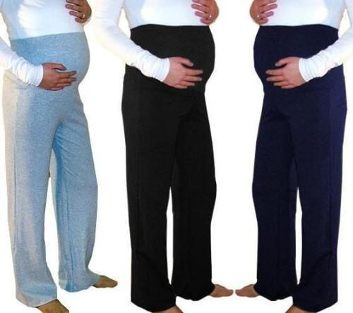Maternity Trousers Pregnancy Pants Casual Yoga Over Bump Joggers 10 12 14 16 18