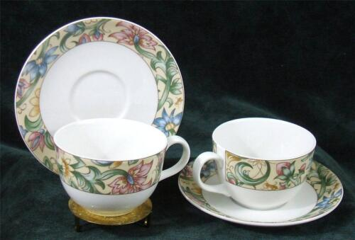 Pair of - ROYAL DOULTON - EVERYDAY - JACOBEAN - CUP's & SAUCER's - 1996
