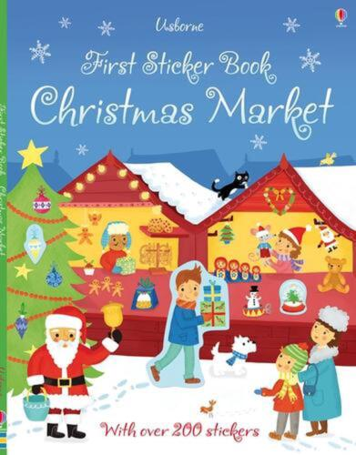 First Sticker Book Christmas Market by James Maclaine Paperback Book Free Shippi