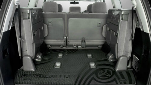 TOYOTA LANDCRUISER 200 SERIES RUBBER CARGO MAT GXLVX SAHARA ALTITUDE NEW GENUINE
