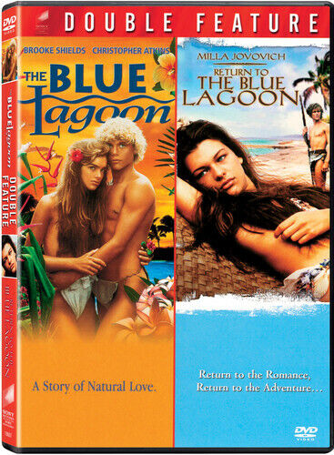 Blue Lagoon/Return to the Blue Lagoon [2 Discs] (2009, DVD NEW)