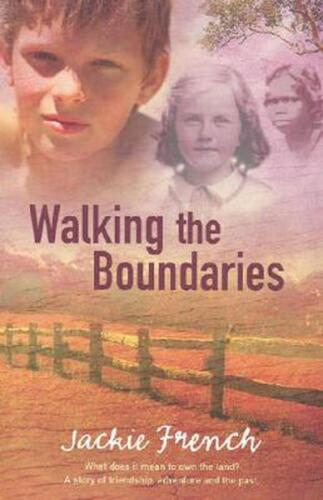 Walking the Boundaries by Jackie French Paperback Book Free Shipping!