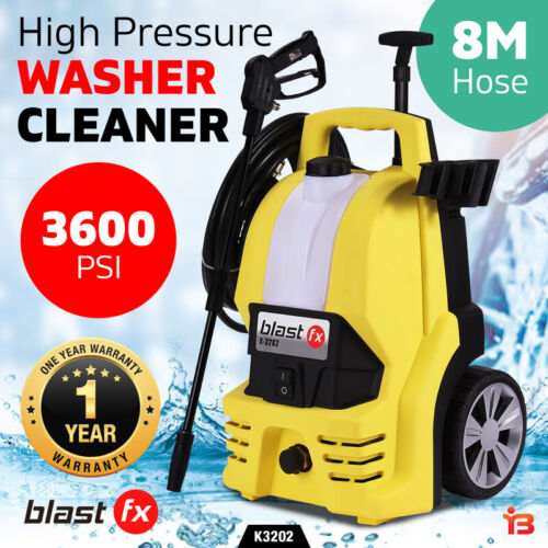NEW BLAST FX 3600 PSI High Pressure Washer Cleaner Electric Water Gurney Pump <br/> EXTRA 20% off with code POOLTIME Ends 25/01 T&amp;Cs apply