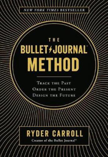 Bullet Journal Method by Ryder Carroll (English) Hardcover Book Free Shipping!