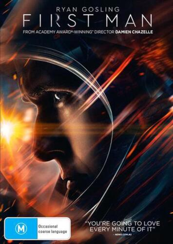 First Man - DVD Region 2,4 Free Shipping!