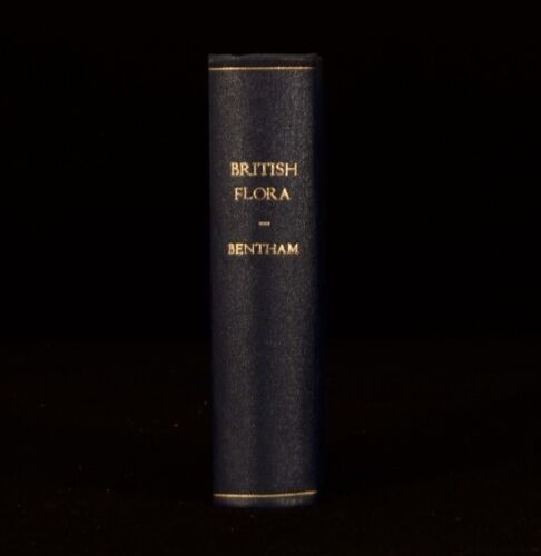 1878 George Bentham Handbook of the British Flora Fourth Edition