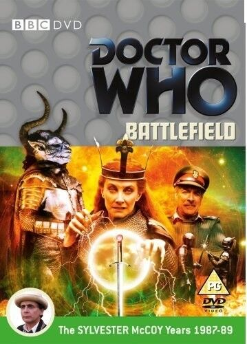 DR WHO 152 (1988) - BATTLEFIELD - TV Doctor Sylvester McCoy  + Ace R2 DVD not US