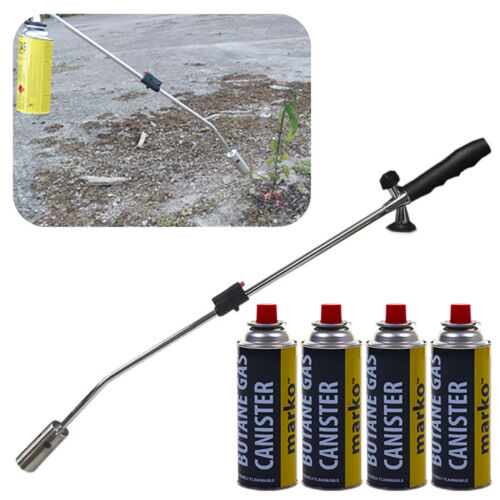 Marko Weed Wand Blowtorch Burner Killer Garden Torch Blaster + Butane Gas Weeds <br/> WEEDS MOSS FUNGUS ECO FRIENDLY NO CHEMICALS EASY UK