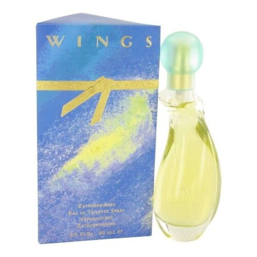 Giorgio Beverly Hills Wings 90ml EDT (L) SP Womens 100% Genuine (New)