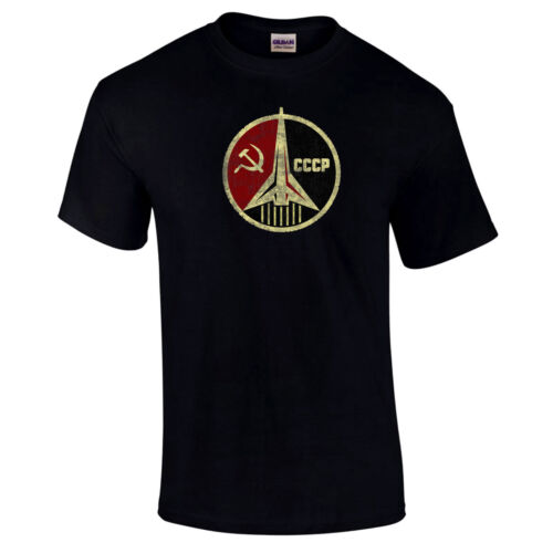 CCCP Russian Soviet Premium Quality Rocket USSR Unisex T- Shirt up to 5XL