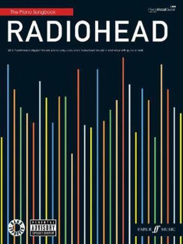 "Radiohead Piano Songbook by ""radiohead"" (English) Paperback Book Free Shipping!"