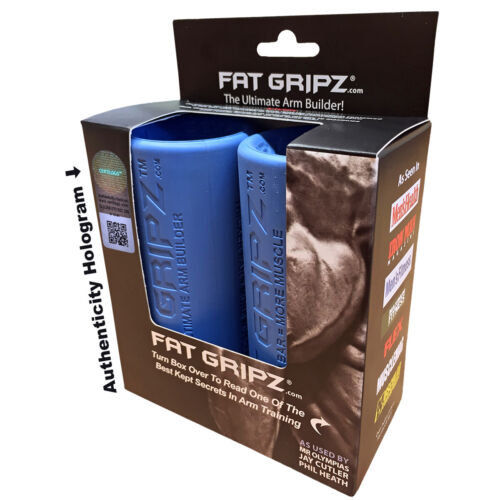 Fat Gripz The Ultimate Arm Builder Original Bar Grippers <br/> Exclusive Seller of Fat Gripz on eBay