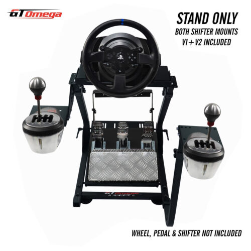GT Omega Steering Wheel stand PRO for Thrustmaster T150 RS Racing wheel for PS4 <br/> In Stock, dispatched within 24 working hours