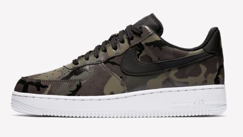 NIKE AIR FORCE 1  07' LV8 CAMO MENS UK SIZES 6 - 11,  LIMITED EDITION SHOE, 201