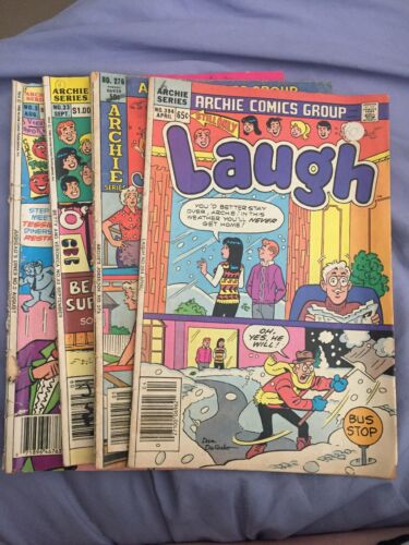 Laugh Comics Digest,Archie's Joke Book,Betty And Veronica,Jugheads Diner