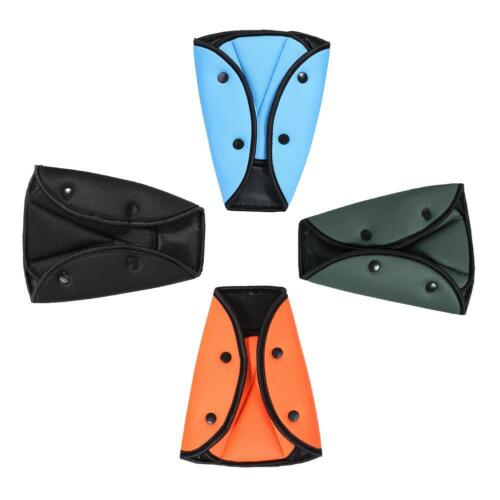 Kid Car Seat Belt Triangle Safety Adjuster Children Seat Cover Neck Protection