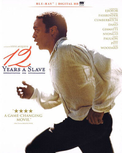 12 Years a Slave BLU-RAY NEW