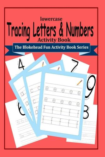 Tracing Letters and Numbers Activity Book by The Blokehead (English) Paperback B