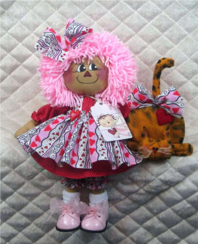 ~~Primitive Raggedy Little Annie & Kitty PATTERN #322~~