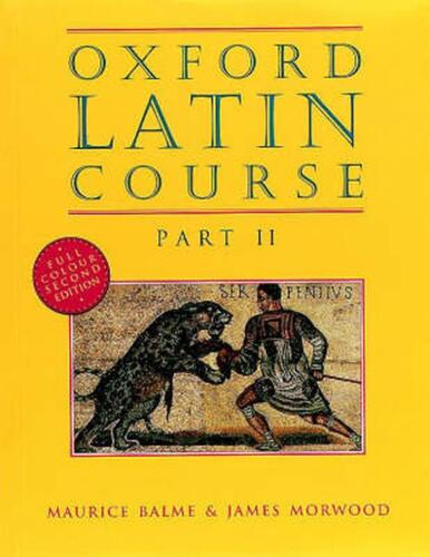 Oxford Latin Course by James Morwood Paperback Book Free Shipping!
