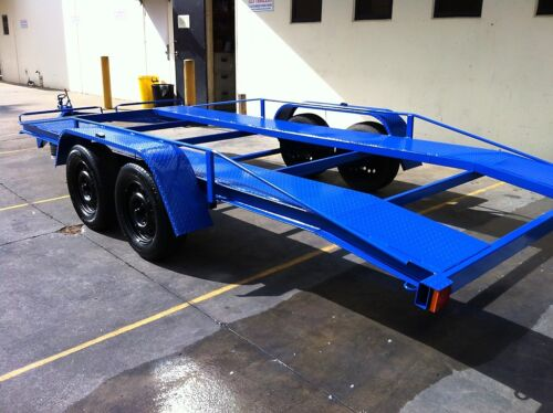 CAR TRAILER TANDEM AXLE 16-FT BEAVER USE4 RACE FORD HOLDEN