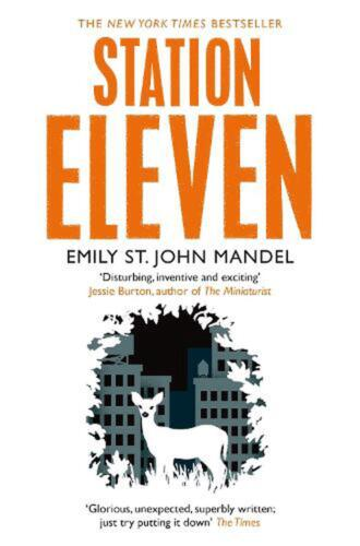 Station Eleven by Emily St. John Mandel (English) Paperback Book Free Shipping!