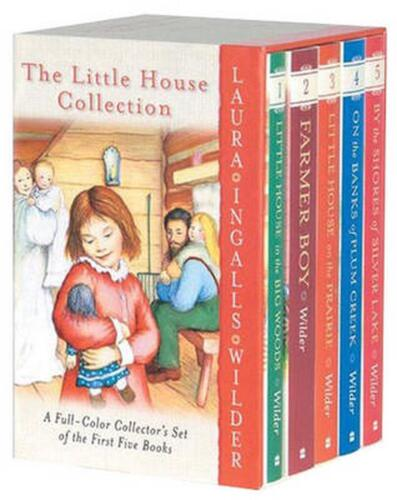 The Little House Collection Box Set (Full Color) by Laura Ingalls Wilder (Englis <br/> Brand New with Free Shipping!
