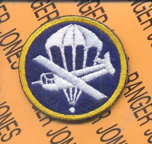 504th Airborne Infantry Regt Parachute Glider WACO Enlisted Hat patch #42Other Militaria - 135